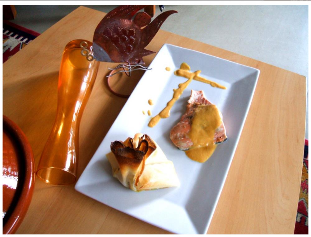réalisation d'un menu complet avec des cours de cuisine à domicile ... - Cours De Cuisine A Domicile